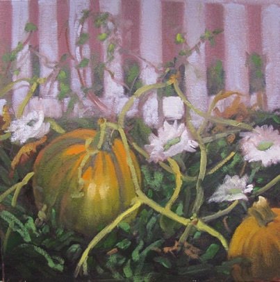 Pumpkin Patch Oil 12x12